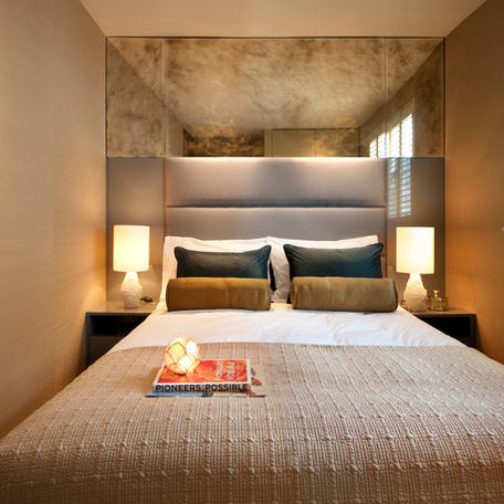 Great Idea For Small Rooms In Your Property Create The Illusion Of Awesome Cool Ideas For Your Bedroom Ideas Property
