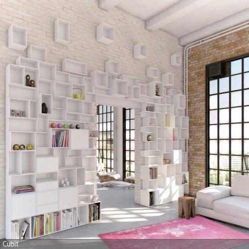 blo nicht eint nig regale als blickfang my new home b cherregal ideen wandgestaltung und. Black Bedroom Furniture Sets. Home Design Ideas