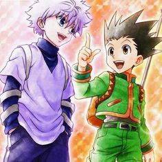 Killua And Gon Gon Hunter X Hunter Killua Hunter Anime