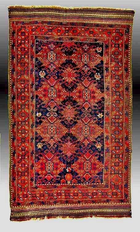 "antique baluch rugs: ""afshar""baluch rug, ne persia 19th c | baluch"