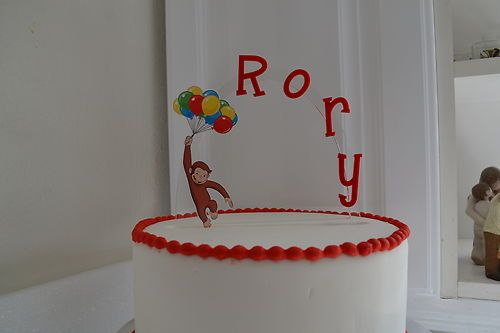Curious George Personalized Cake Topper or Any Character ...