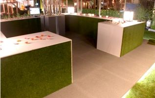 TECNIK GRASS : Gazon synthétique anti feu, 11,5mm