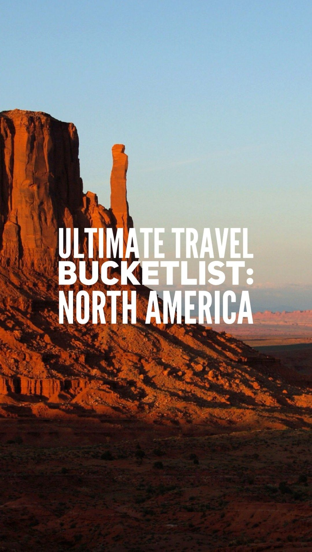 Ultimate Travel Bucketlist: North America - Maps of Pangea