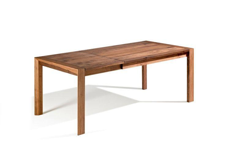 Esstisch Baumkante ausziehbar mit Vollholzfüßen 3 M   Esstisch baumkante, Esstisch ausziehbar ...
