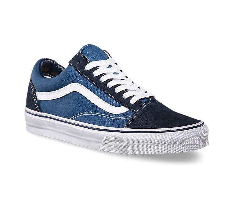 8f58830926 Vans Old Skool- Navy Blue   White... gotcha!
