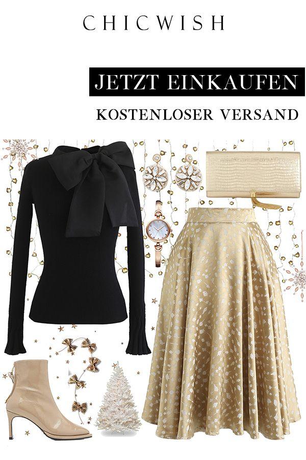 Golden Spot Jacquard Midi Skirt #modestfashion