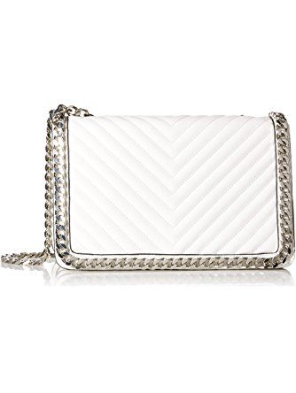 615f67be13b Aldo Greenwald Cross Body Handbag, White ❤ Aldo Aldo Handbags, Chanel Boy  Bag,