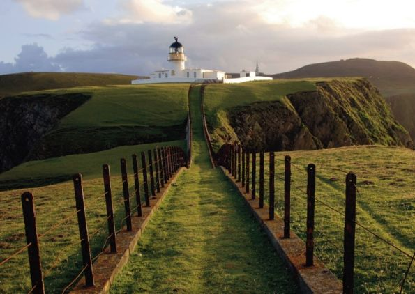 Fair Isle, which lies between Shetland and Orkney, has been ranked ...