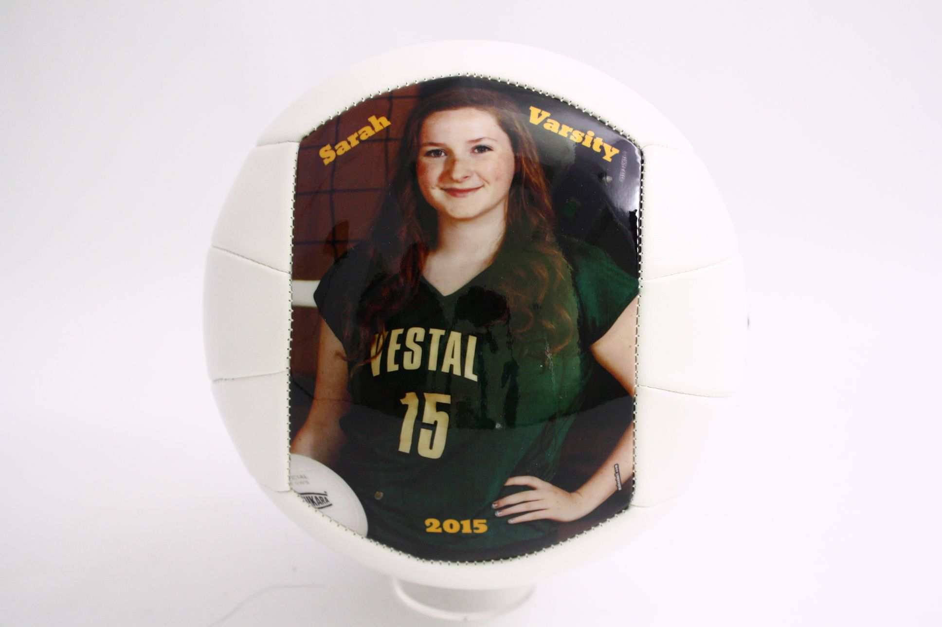 Customized Volleyball With Your Own Pictures And Text Capture The Smile And Make It Last Forever With This Unique Sp Sport Volleyball Sports Gifts Volleyballs