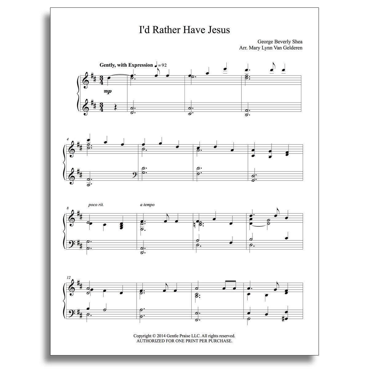1-hymns And Spirituals