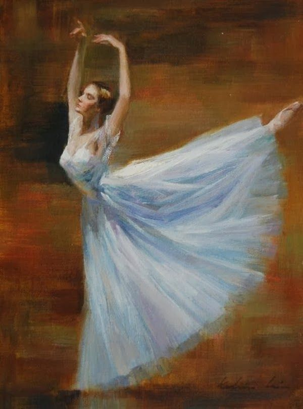 Impressioniartistiche Kelvin Lei Ballerina Art Ballerina Art Paintings Ballerina Painting