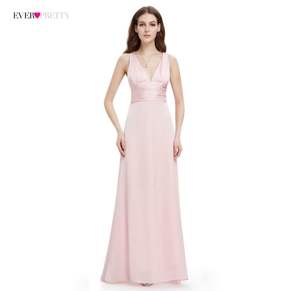 8d52dea15f846 Evening Dress Ever Pretty EP09008 A-line Double V-neck Sleeveless ...