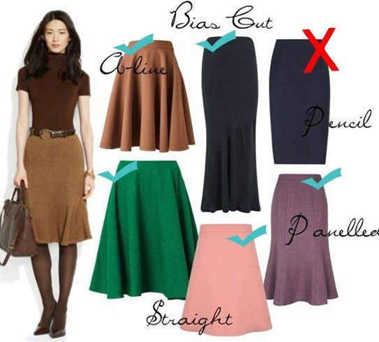 Skirts For Pear Shaped Women Don T Shy From Them Anymore Pinterest Pear Shapes And Pear
