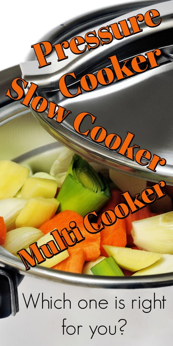 Pressure Cooker vs Slow Cooker vs Multi Cooker (Plus an