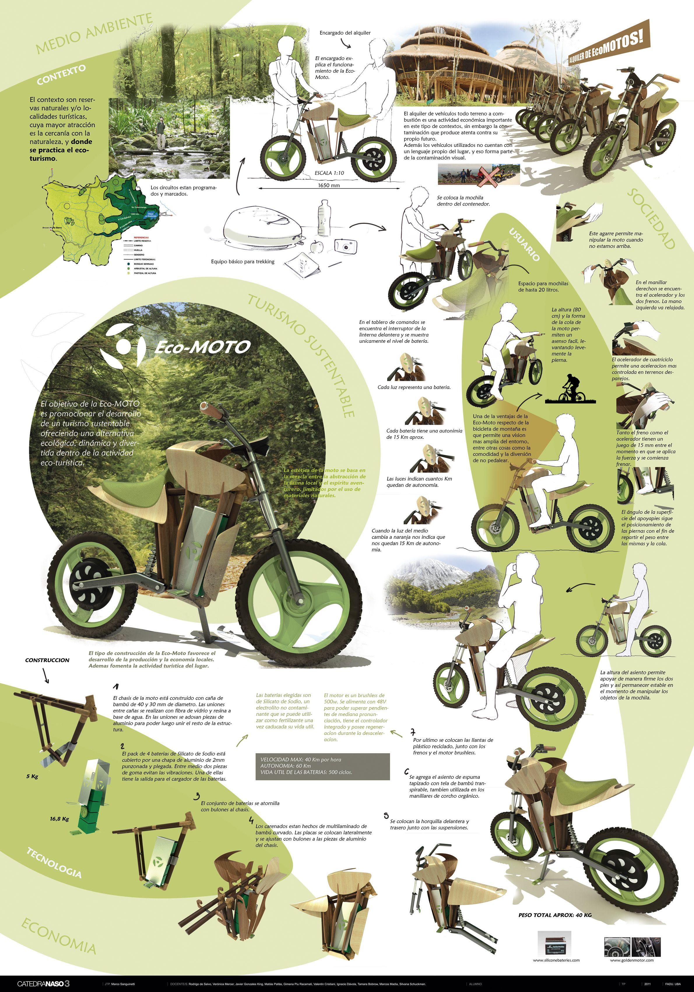 El objetivo de esta moto es impulsar el desarrollo del turismo ...