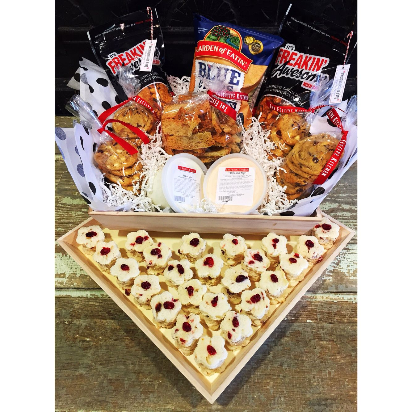 Gifts With Bacon Dip Are The Best Festive Kitchen Festivekitchen Giftbox Bacon Dip