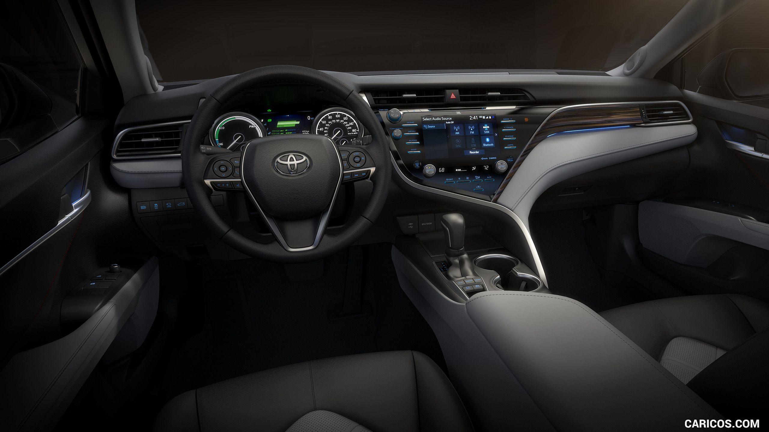 Toyota Camry 2018 Interior >> 2018 Toyota Camry Xse Interior Cockpit Hd Toyota Camry