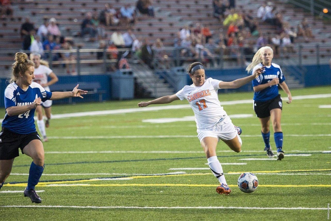 Carroll 6 marian 0 carroll university womens soccer