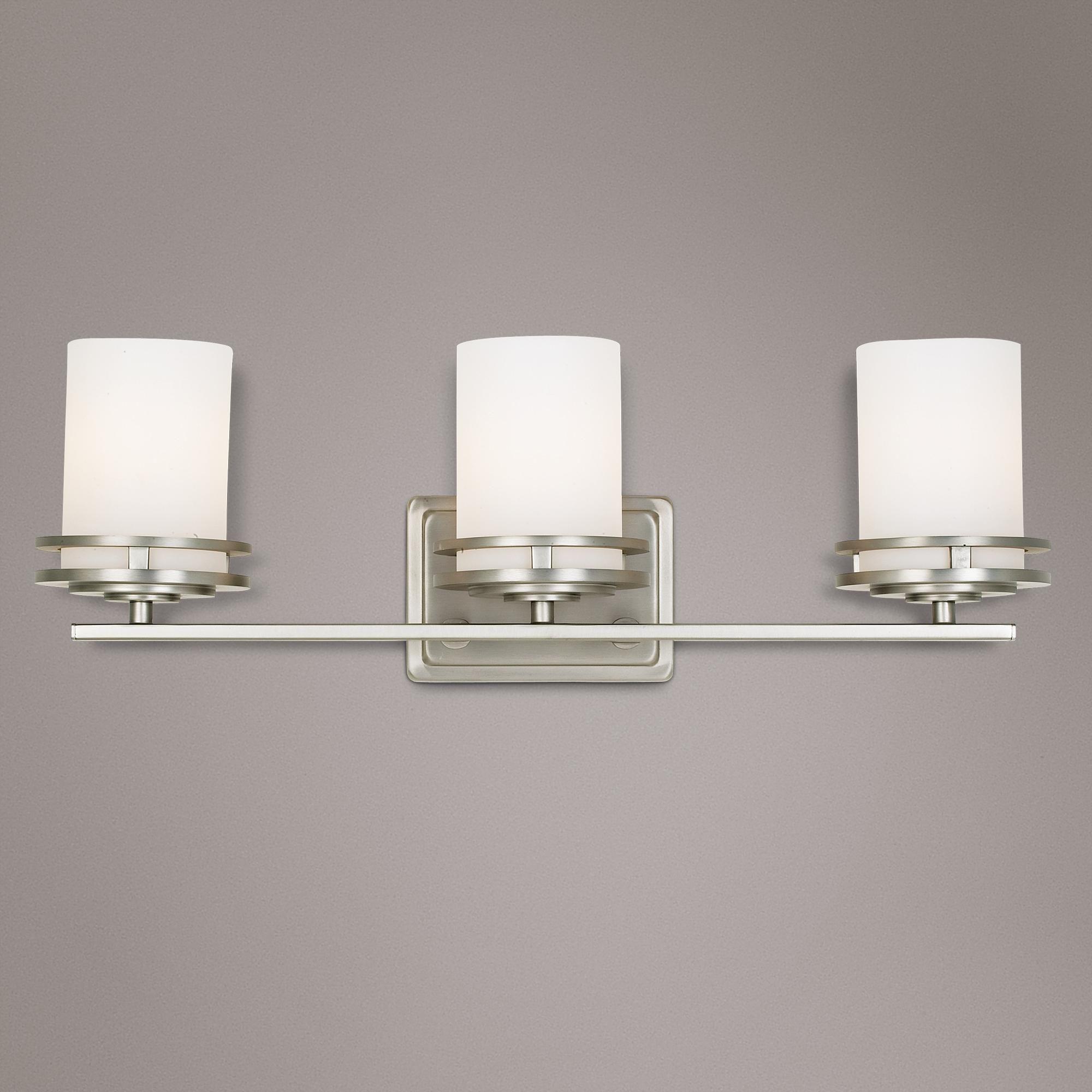 Hendrik Nickel 24 Wide Bathroom Light Fixture 41763 Lamps Plus Bathroom Light Fixtures Bathroom Lighting Light Fixtures