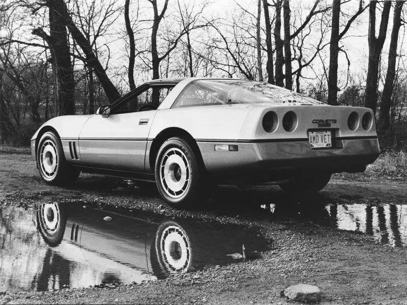 1984 Chevrolet Corvette Chevrolet Corvette Corvette Corvette C4