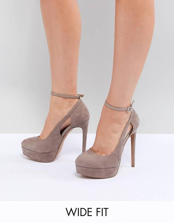 PARTYLINE Wide Fit Platform Heels outlet online outlet cheap authentic excellent for sale zoQm4xJdI