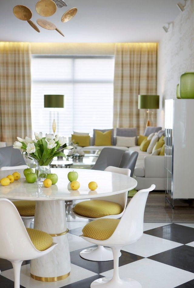 AGRA Esstisch Pantone Grün 2017 Wohndesign Wohnzimmer Ideen