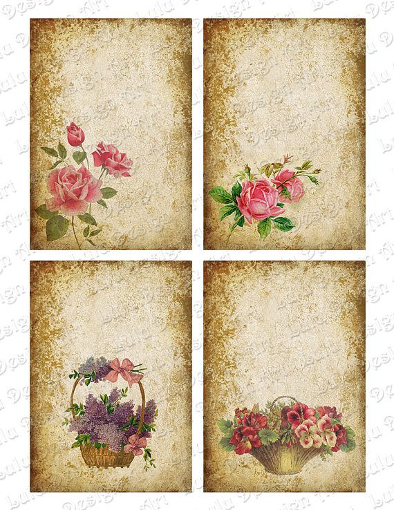 ❤️ JOT ROSE birds vintage scrap book stickers crafts love letters shabby chic ❤️