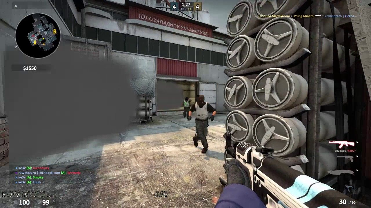 When you need to hold the rush(lucky) #games #globaloffensive #CSGO