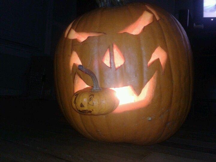 Cannibal jack o lantern