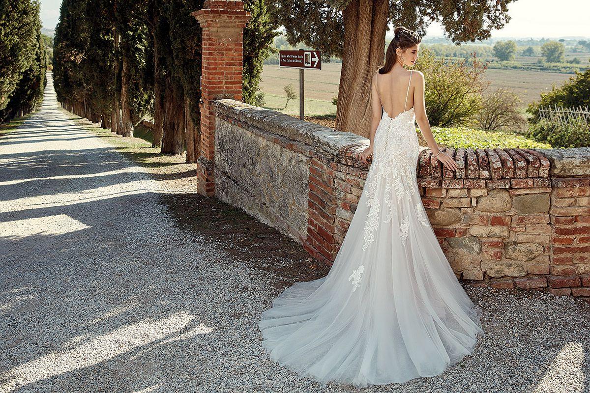Lace v neck maxi dress april 2019 Wedding Dress EK u Eddy K Bridal Gowns  Designer Wedding