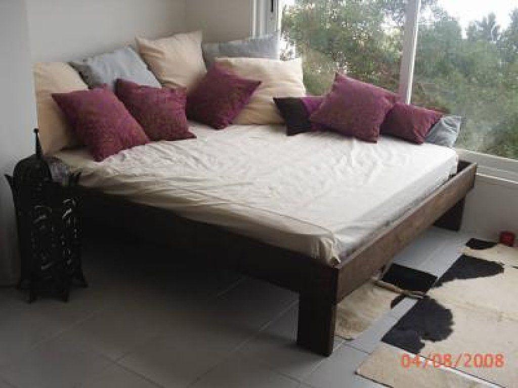Sofa Cama Casas Rusticas Pinterest Sof S Cama Rusticas Y Sof  # Muebles Con Paletas De Madera
