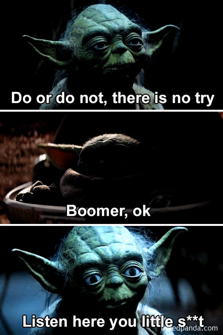 30 Baby Yoda Memes To Save You From The Dark Side Yoda Memes Dark Side