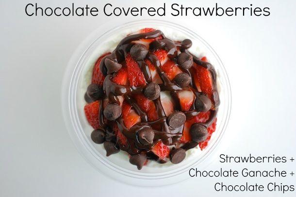 Always Order Dessert: 8 Sweet & Decadent DIY Yogurt Cup Topping Ideas -- Food Blog and Recipes