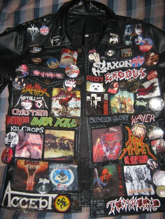 White Raven's battle jacket - amazing! so much envy!