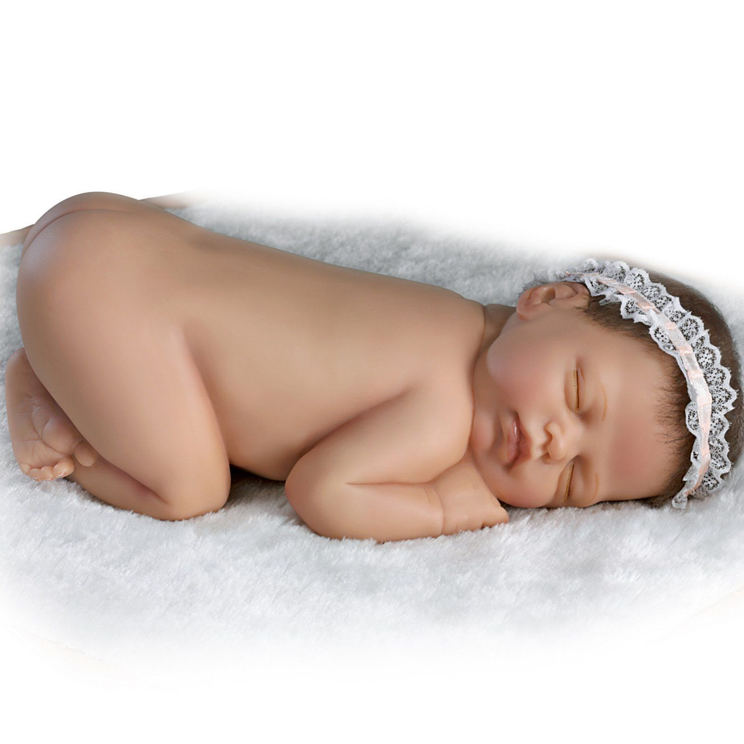 Ashton drake cuddle me lifelike newborn baby for The ashton