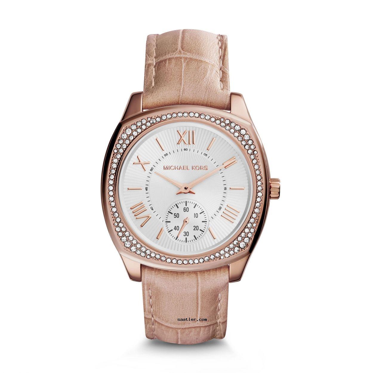 Michael Kors Mk2388 Bayan Kol Saati Leather Watch Michael Kors Leather