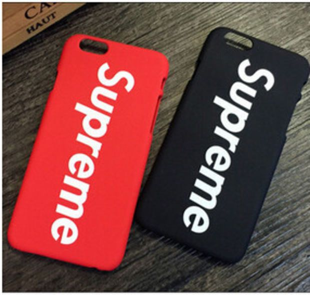promo code outlet store lowest discount Brand Fashion Luxury Logo Supreme Red Black Matte Plastic ...