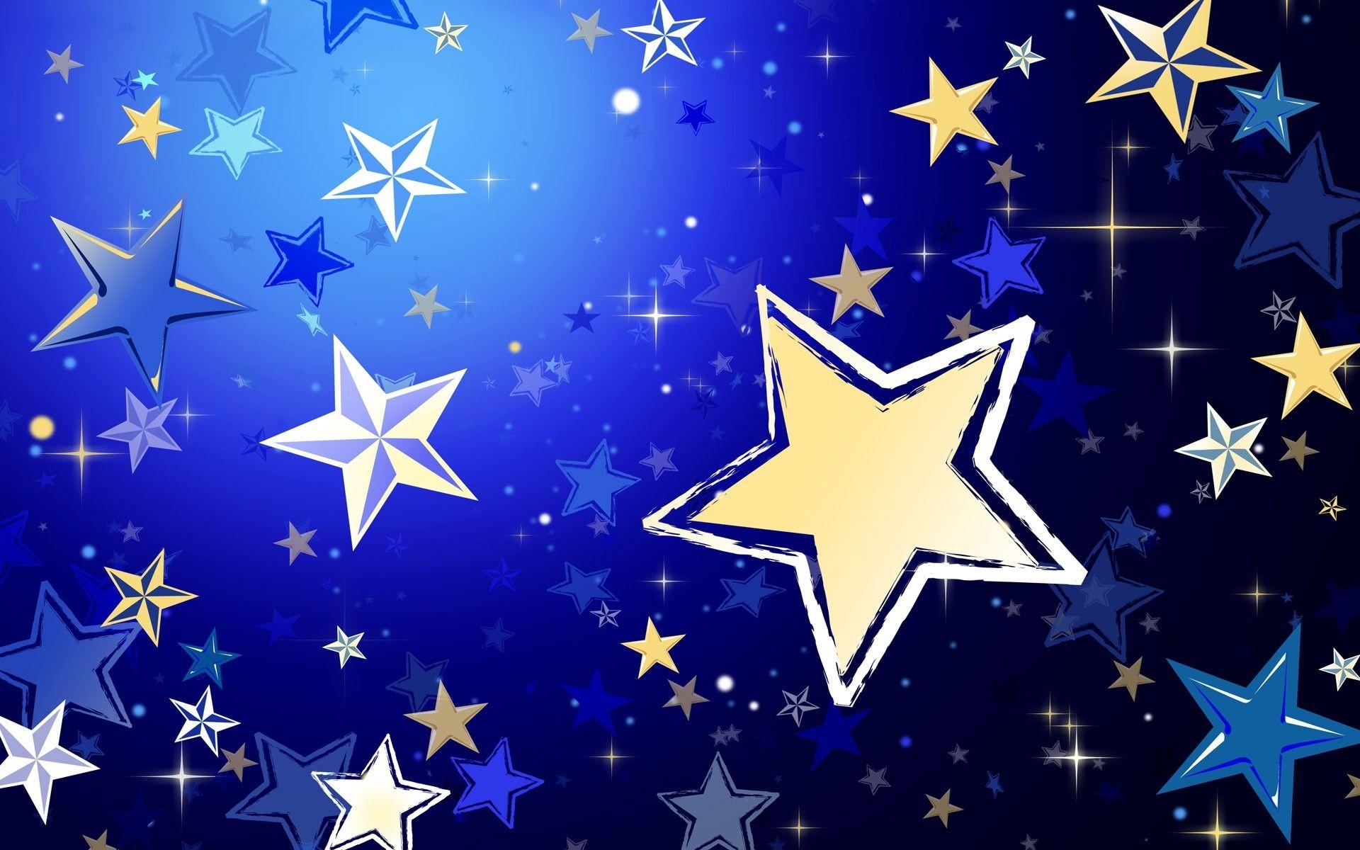 Картинка вечер, открытка со звездой