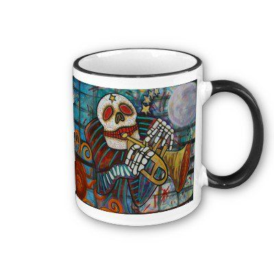 Day Of The Dead Coffee Mug from Zazzle.com