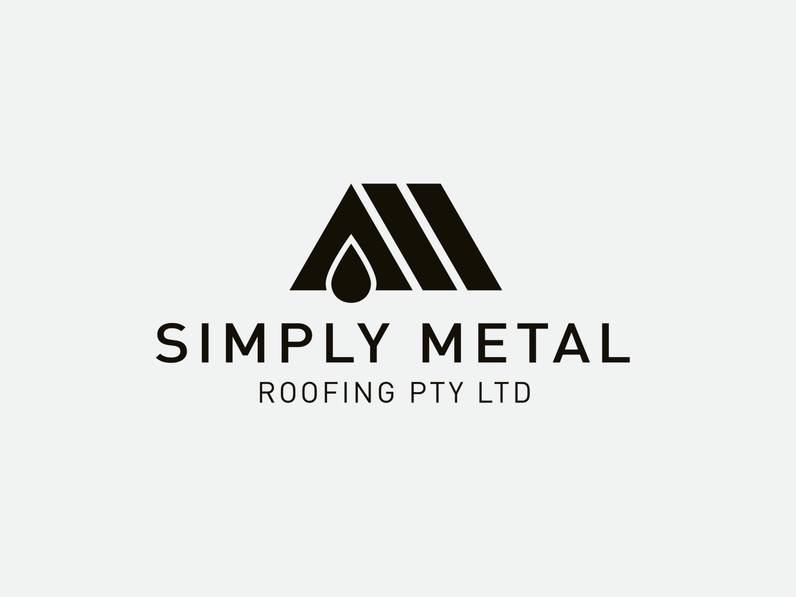 Simply Metal Roofing Logo Sydney Roofing Logo Roofing Company Logos House Logo Design