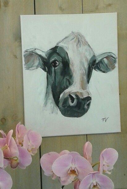 Koe/Cow acryl