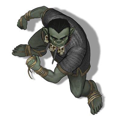 M Half Orc Monk Token Roll20 Tokens Pinterest Virtual Tabletop