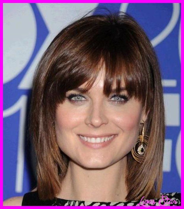Choppy Haircuts For Square Face: Awesome Hairstyles For Square Faces With Bangs