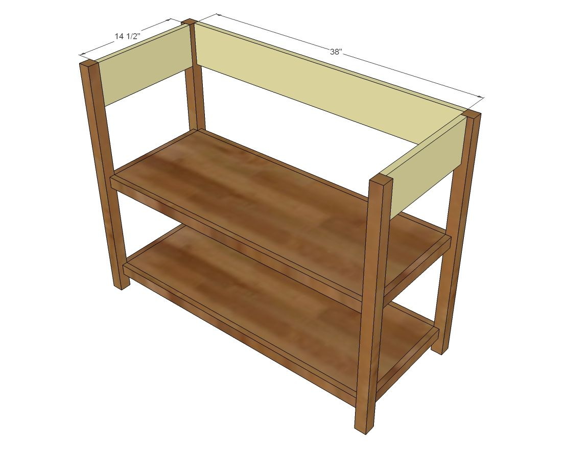 Ultimate Changing Table   Diy pallet bed, Baby changing ...