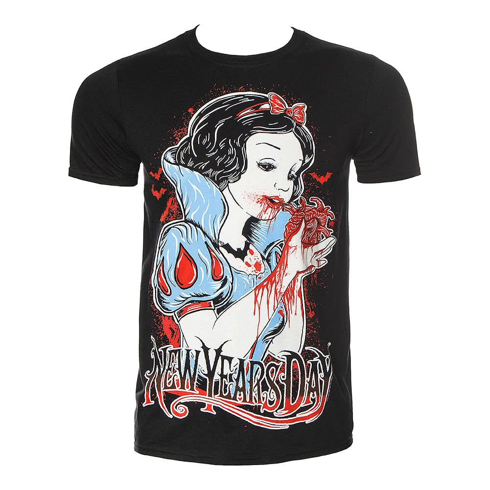 Official New Years Day Heart Eater T Shirt Black Mens Shirts Tee Shirt Sale Mens Tshirts