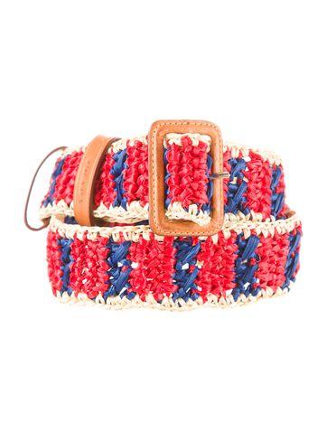 d5272d60a5 Belt | Prada Archive | Crochet belt, Belt, Prada