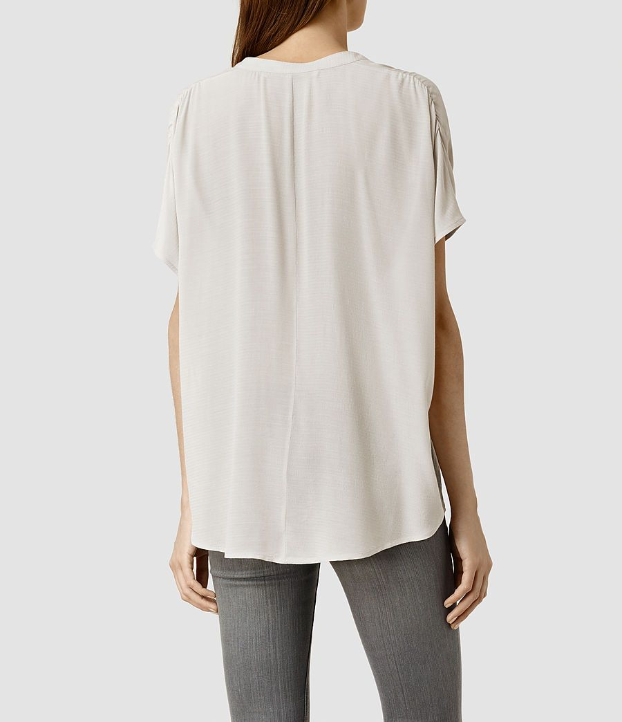 Women's Albany Top (Black) - product_image_alt_text_3