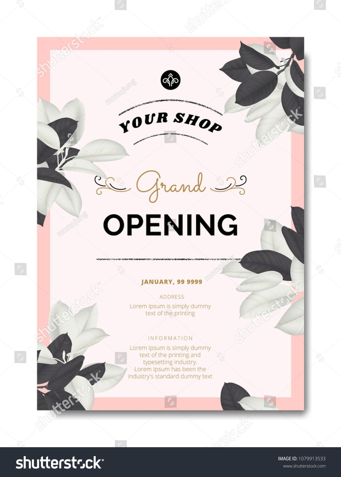 Grand Opening Invitation Template Shop Opening Invitation Card Grand Opening Invitations Invitation Card Sample