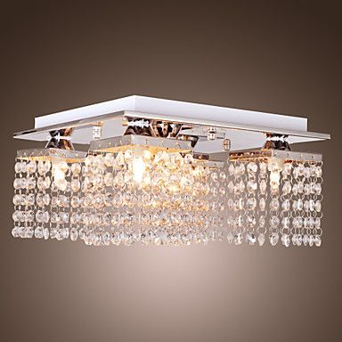 Ceiling Light Crystal Modern 5 Lights House, Ems y Amor - lamparas de techo modernas