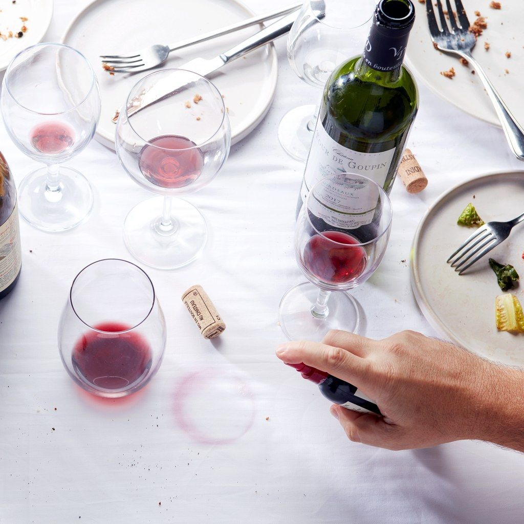 This Stain Remover Will Make You Invite All Your Friends To Sip Red Wine On Your White Sofa Red Wine Stains Wine Stain Remover Red Wine Stain Removal